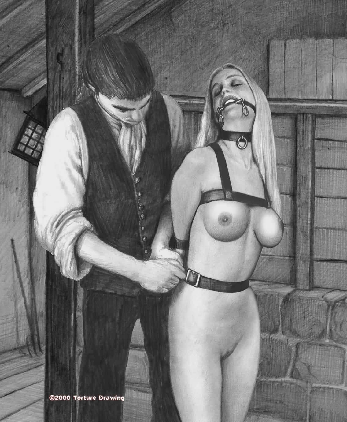 4 slaves punished and humiliated by master he fucks and slap 7